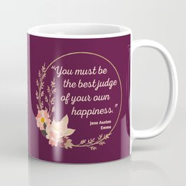 Emma By Jane Austen Quote I - Cute Style Coffee Mug