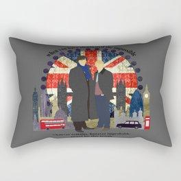 Sherlock - Eliminate The Impossible Rectangular Pillow
