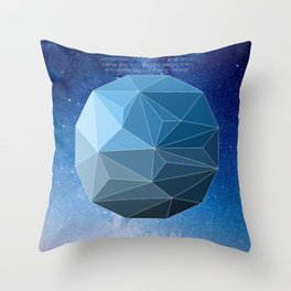 Continuum Space Throw Pillow