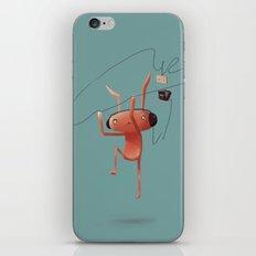 Rabbit Listening iPhone & iPod Skin
