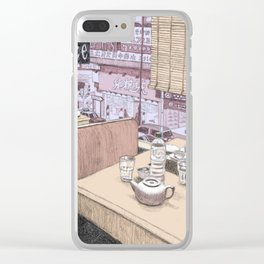 Hong Kong Diner Clear iPhone Case
