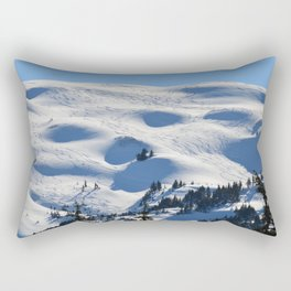Back-Country Skiing - II Rectangular Pillow