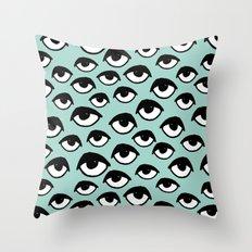 Eyes on you  Throw Pillow