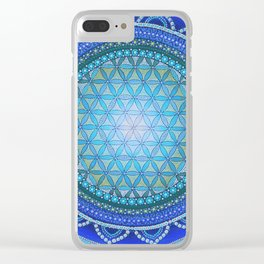 Eye of The Catalyst Mandala Clear iPhone Case