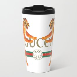 GucciLogo With Tigers Travel Mug