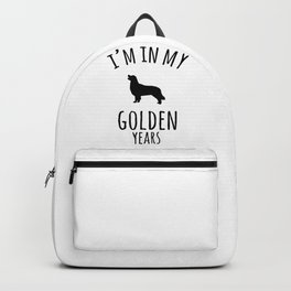 I'm In My Golden Years Golden Retriever Dog Lover Backpack