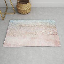 Pink Sand | Coastal Photography | Beach | Nature | Ocean Rug