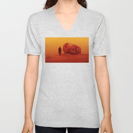 THE WASTELAND - BLADE RUNNER 2049 Unisex V-Neck