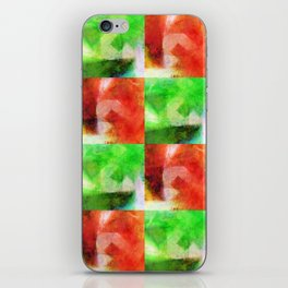 Apple Chequers iPhone Skin