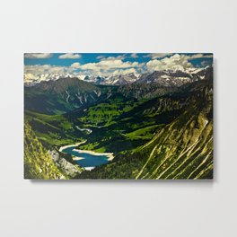 Swiss Alps Metal Print