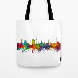 Hannover Germany Skyline Tote Bag
