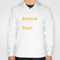 baking Hoodies featuring The Fab 4 - Baking (colour) by shio