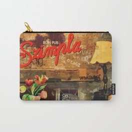 Ruin Pub Szimpla Lounge with Flowers Carry-All Pouch