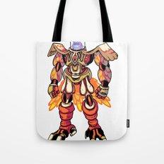 Mecha Owl Tote Bag