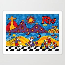 Rio New Art Print