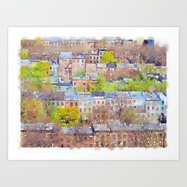Neighborhood of Make-Believe I Art Print
