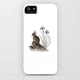 Springtime Rabbit iPhone Case