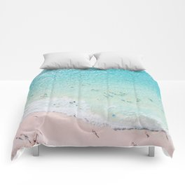 Beach Sunday Comforters