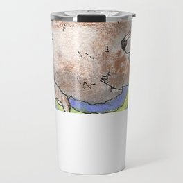 Big Fat Wolf Travel Mug