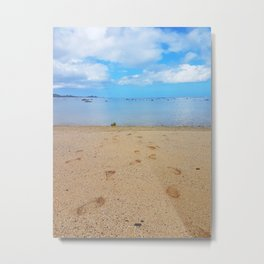 Lead Me to the Water Metal Print