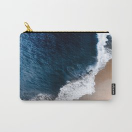 Deep blue shore Carry-All Pouch
