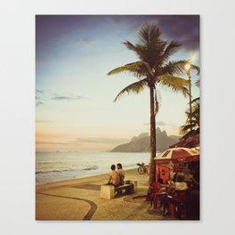 ipanema, rio de janeiro, brazil Canvas Print