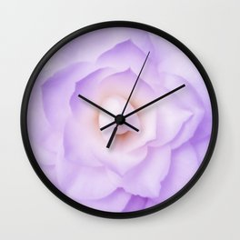 Lilac Bloom 2 Wall Clock