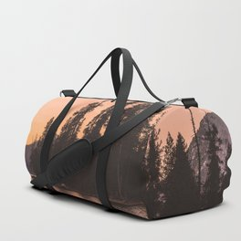 Forest Island at the Lake - Nature Photography Duffle Bag