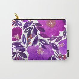 hand painted flowers_3b Carry-All Pouch