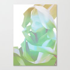 Glitch Portrait Canvas Print