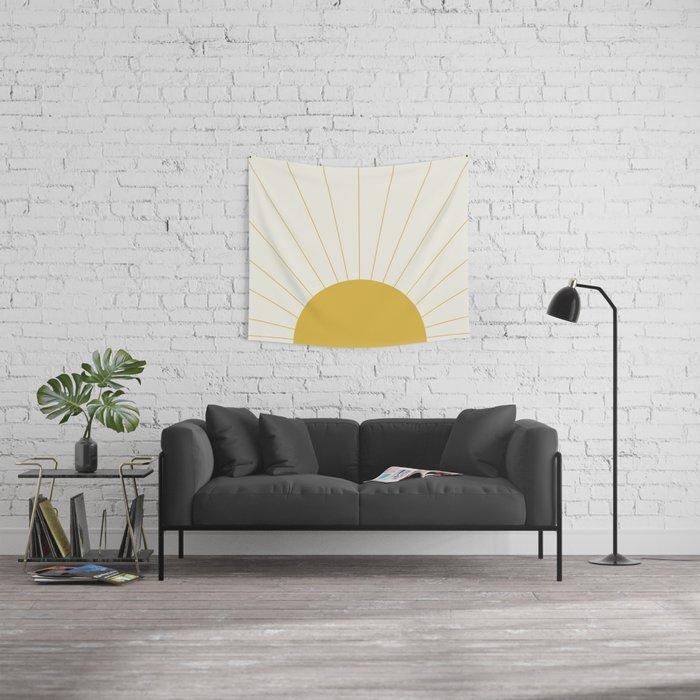 Sunrise / Sunset Minimalism Wall Tapestry