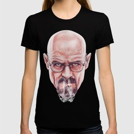 Walter White on Vapor by Cleofe Pacaña T-shirt