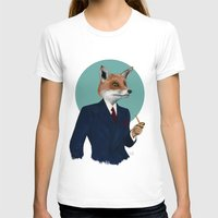 mr fox T-shirts featuring Mr. Fox by FAMOUS WHEN DEAD