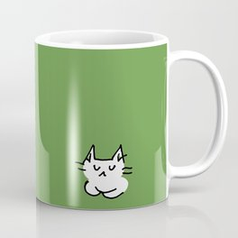 emo cat color #2 - calm Coffee Mug