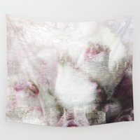 blush Wall Tapestries featuring Blush by Susie Peacock