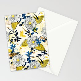Flowers patten1 Stationery Cards