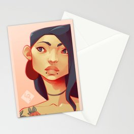 Random someone Stationery Cards
