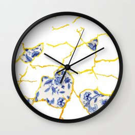 Kintsukuroi No.2 Wall Clock