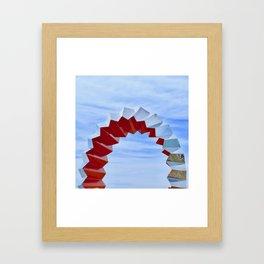 Sculptures'n'Sky Framed Art Print