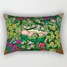 Earth Baby Rectangular Pillow