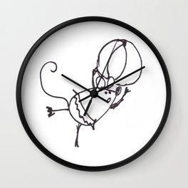 Circus Mouse Wall Clock