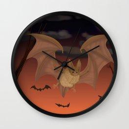 Autumn Flight Wall Clock