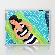 In the pool Laptop & iPad Skin