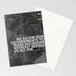 The Facts Stationery Cards