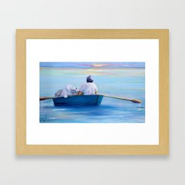Heading Toward the Light Framed Art Print