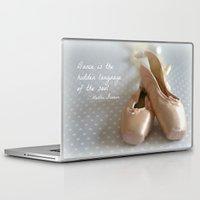 ballet Laptop & iPad Skins featuring Ballet by DuniStudioDesign