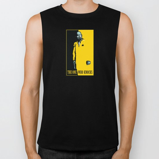 The One Who Knocks Biker Tank
