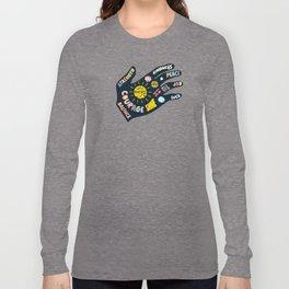 Positivity – Helping Hand Long Sleeve T-shirt