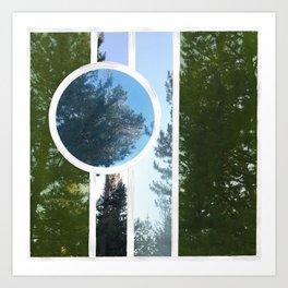 In Trees Art Print