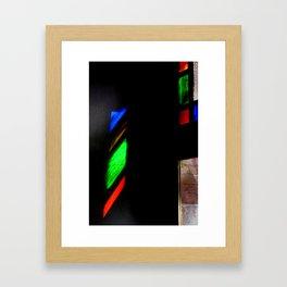 Holy light Framed Art Print
